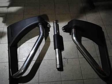 Toyota hilux vigo roll bar original from toyota