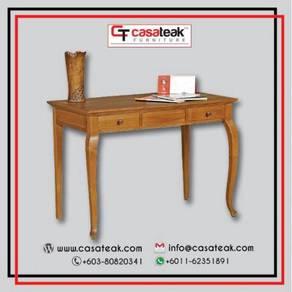 Console table jati parabot - Casateak Malaysia