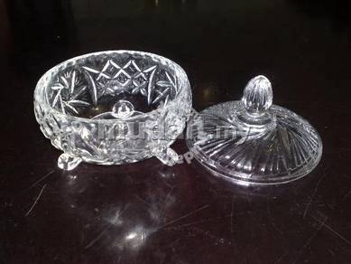 Candy bowl with cover mangkuk