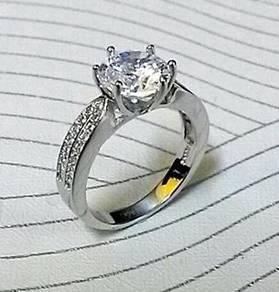 Silver 925 wedding ring