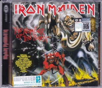 IMPORTED CD IRON MAIDEN The Num_ber of The Beast