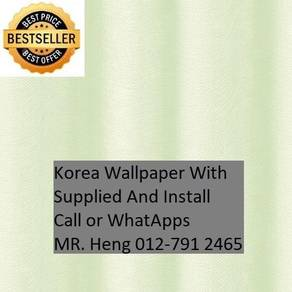 Wall paper Install at Living Space d45jr5rh