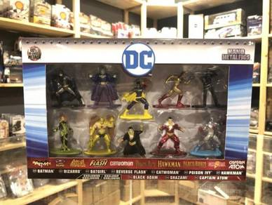 Jada Nano Metalfigs DC Comics 10-Pack Figures