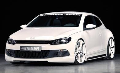 Original Rieger Germany Front Lip VW Scirocco