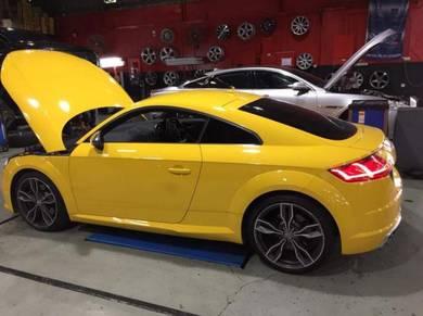 Audi tt vw A5 a4 a6 a7 a8 engine oil service mobil
