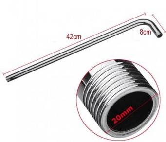50cm Wall Shower Arm Extension StainlessSteel pipe
