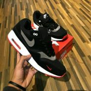 Airmax 1 black red