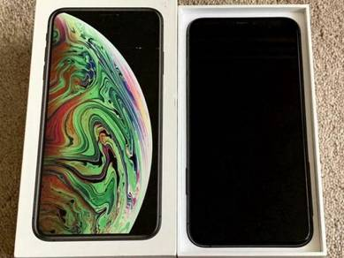 Iphone xs max grey 256gb