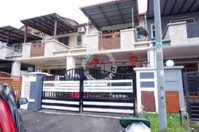 Jp Perdana 2 Storey Reno Unit /Full Loan Low Deposit/Setia Indah