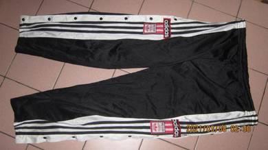 Vintage 90s seluar track adidas sze L
