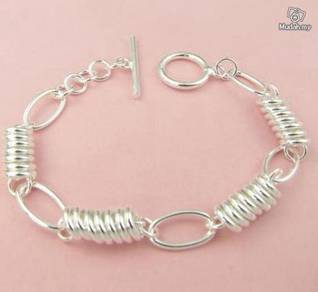 ABBS9-S011 Vogue Silver 925 Bracelet Mens Fashion
