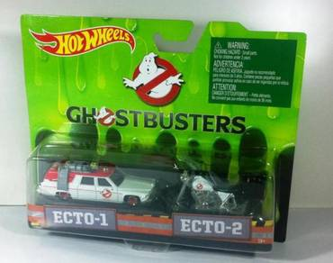 Hotwheels Ghostbusters Twin Pack Ecto-1 & Ecto-2