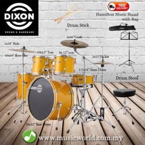 Dixon spark drum set complete standard 5 piece