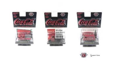 M2 Machines Coca-Cola Release 1 #52500-RW01 Set