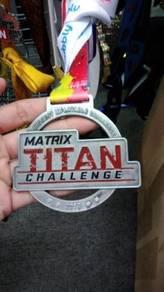 Custom Made Acrylic/Metal Medal