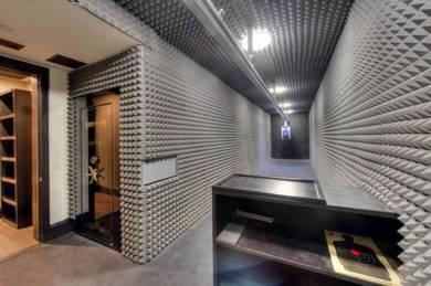Sound proof heat insulation install supply