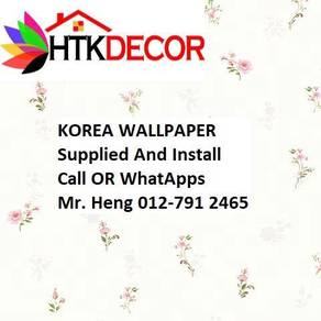 Korea Wall paper with installation L76Y