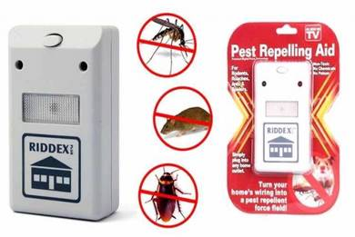 Pest Control Repelling Aid Built in Night Light