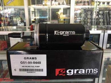 Grams external fuel pump 440LPH