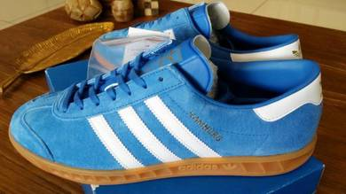 Adidas Originals Hamburg Shoes (Leather)ROYAL BLUE