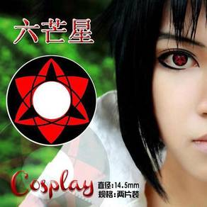 Uchiha Seringan Rinnegan cosplay contact lens
