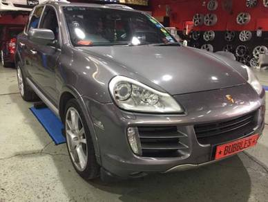 Porsche cayenne carerra install performance disc