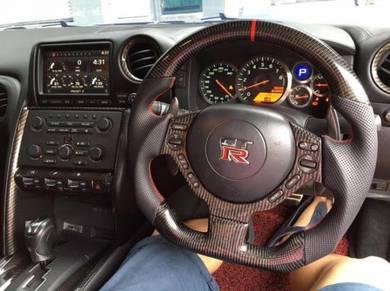 Nissan gtr 35 full carbon steering