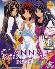 DVD ANIME CLANNAD Story 1-22 + After Story 1-22