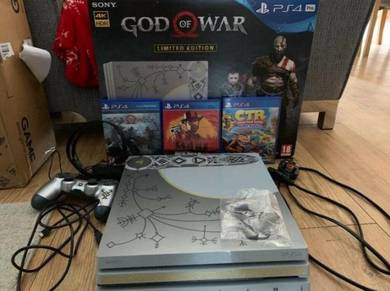 PS4 Pro God of War Limited Edition Console -