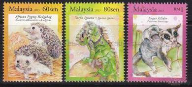 Mint Stamp Exotic Pet Malaysia 2013