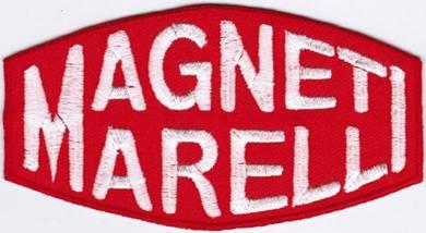 Magneti Marelli Car Racing Badge Iron On Patch