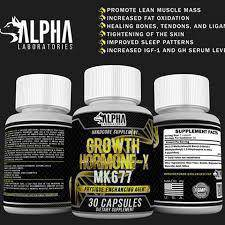Growth Hormone X (MK-677) strenght muscle