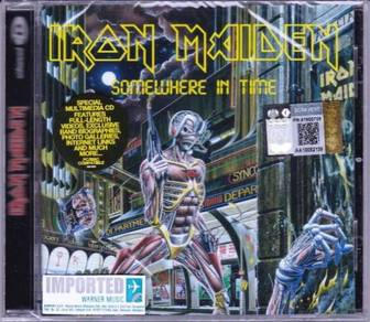IMPORTED CD IRON MAIDEN Somewhere In Time