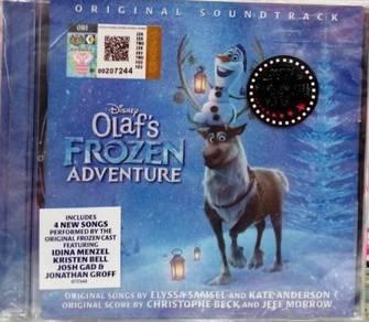 CD Disney Olaf's Frozen Adventure Soundtrack
