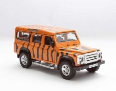1/32 land rover defender (tiger stripe) diecast