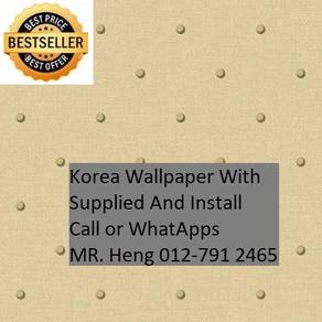 3D Korea Wall Paper with Installation 34wh53