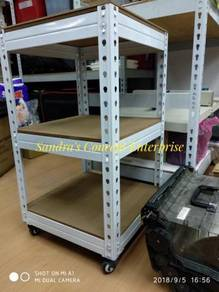 Mini Size Rack With Roller ( Boltless )