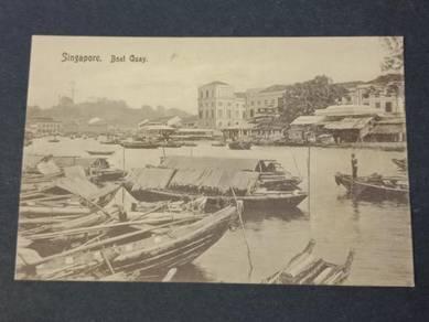 Postcard Boat Quay PC 2740