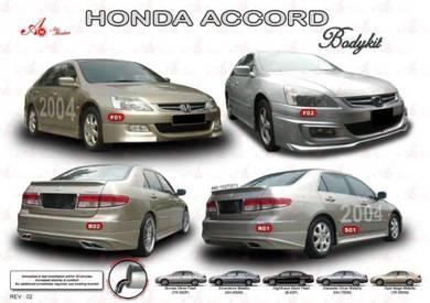 Honda accord 2004 07 AM Bodykit body kit skirt lip