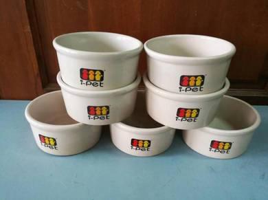 Pet's Ceramic Food Bowl Dia 6.5