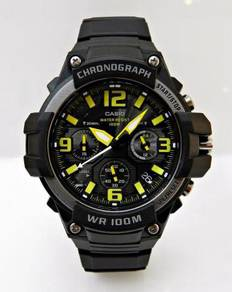 CASIO Men Chronograph Sport Watch MCW-100H-9AVDF