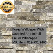 Brick Wall Paper with Installation 43g54g