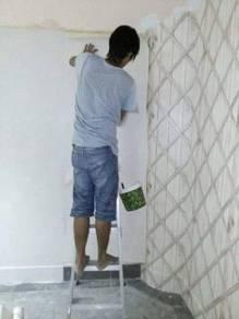 INSTALL WALLPAPER l pasangkan kertas dinding