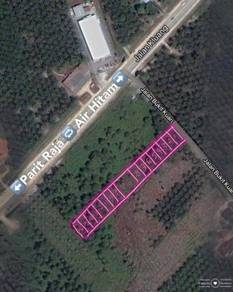 Layout Approved Housing Development Land Parit Raja Batu Pahat