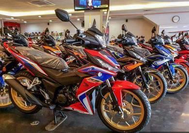 (Full Loan)2021 Honda RS150 RS 15 150 Y 135lc LC