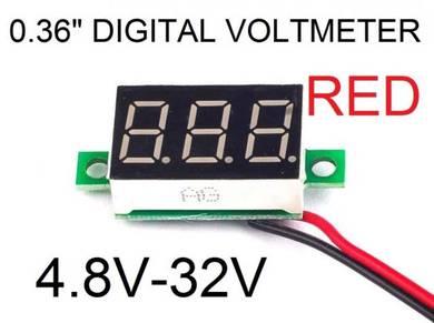 Digital LCD DC 4.8V~32V Voltmter tester 0.36