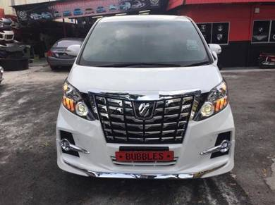 Alphard 08-14 converted facelift 2017 look