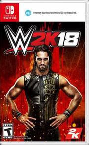 Nintendo Switch - WWE 2018 (Brand New & Sealed)