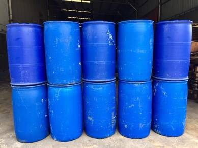 Used Tighthead HDPE Plastic Bunghole Drums
