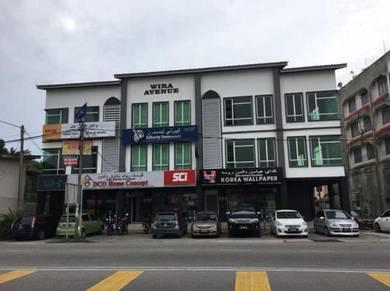 Bangunan kedai pejabat untuk di sewa di kota bharu